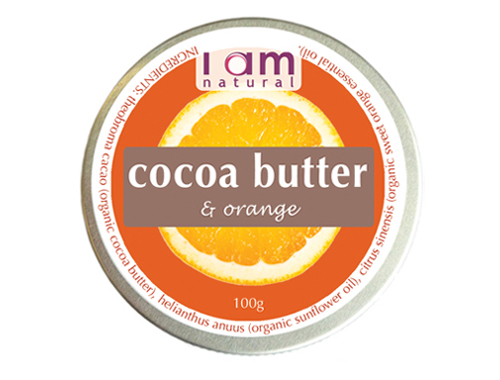Organic Cocoa Butter & Orange