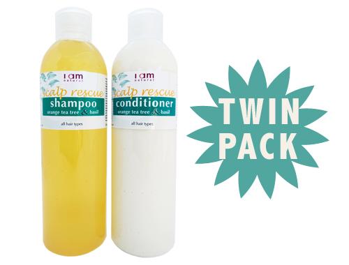 Organic Scalp Rescue Shampoo & Conditioner