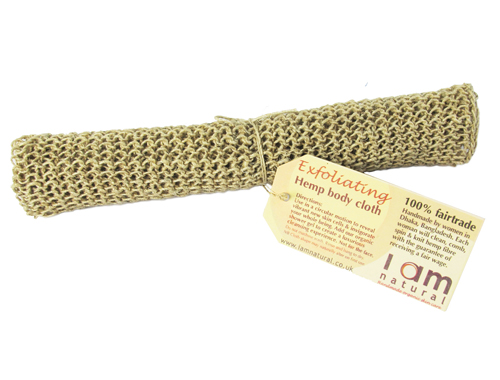 Fairtrade Exfoliating Hemp Cloth