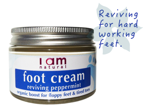 Organic Peppermint Reviving Foot Cream