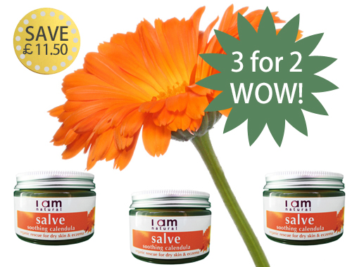 Friends 3 for 2 Organic Calendula Soothing Salve