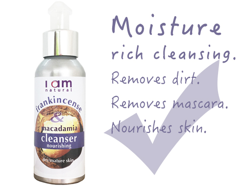 Organic Frankincense & Macadamia Cleanser