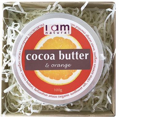 Organic Cocoa Butter & Orange Gift Box