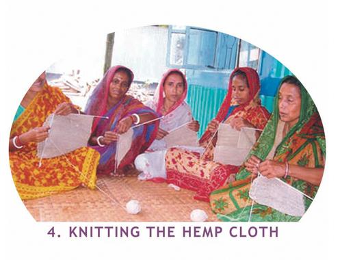 Fairtrade Exfoliating Hemp Cloth