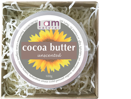 Organic Cocoa Butter Unscented Gift Box