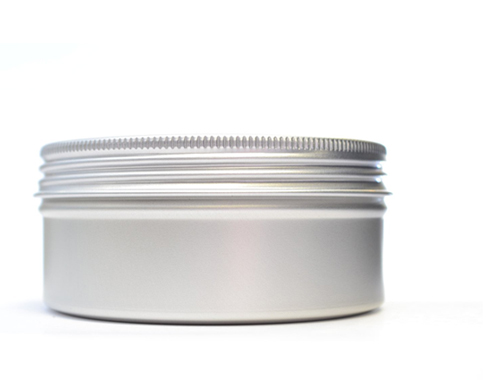 Aluminium Jar with lid 15ml or 100ml