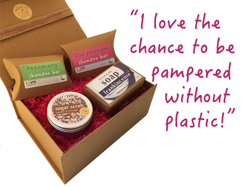 Plastic Free Pampering Gift Set