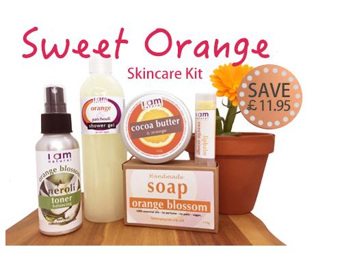Friends Sweet Orange Skincare Kit