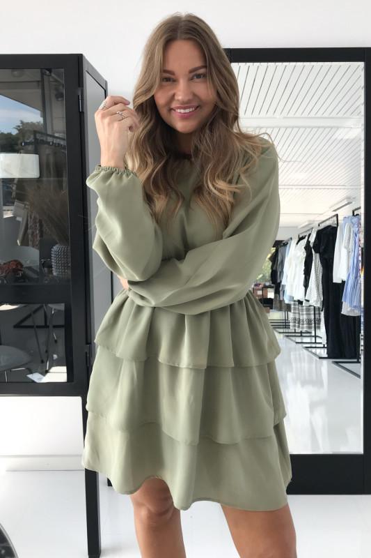 BYIC - Nynne kjole - Støvet grøn