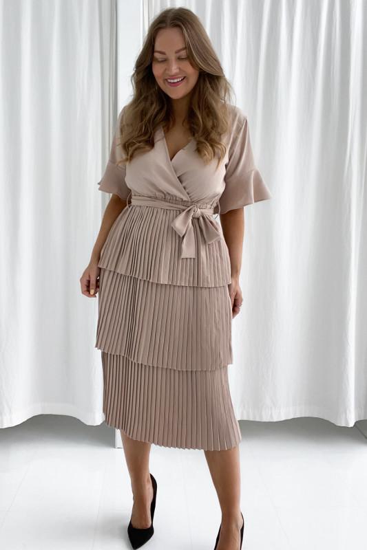 BYIC - Liva kjole - Beige