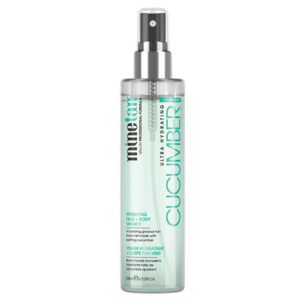 Minetan - Cucumber Hydrating Face and Body Tan Mist