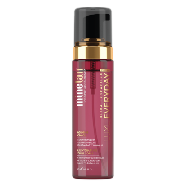 Minetan - Luxe Everyday Hydrating Body Oil (Body lotion der indeholder en smule selvbruner)