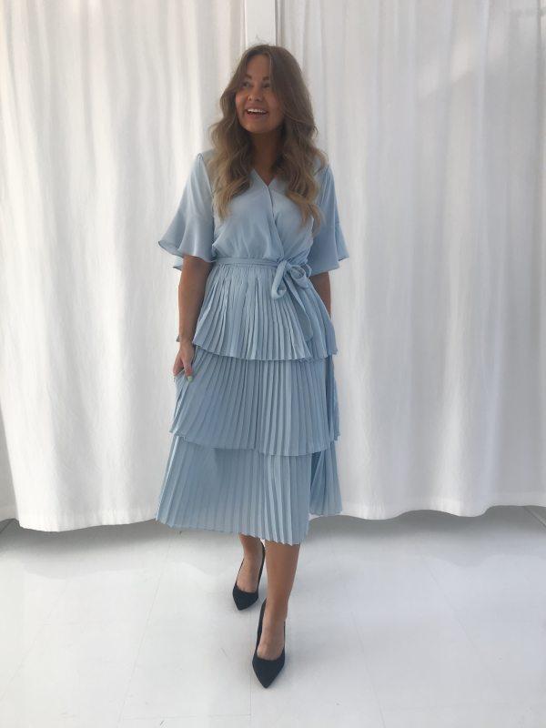 BYIC - Liva kjole - Lys blå