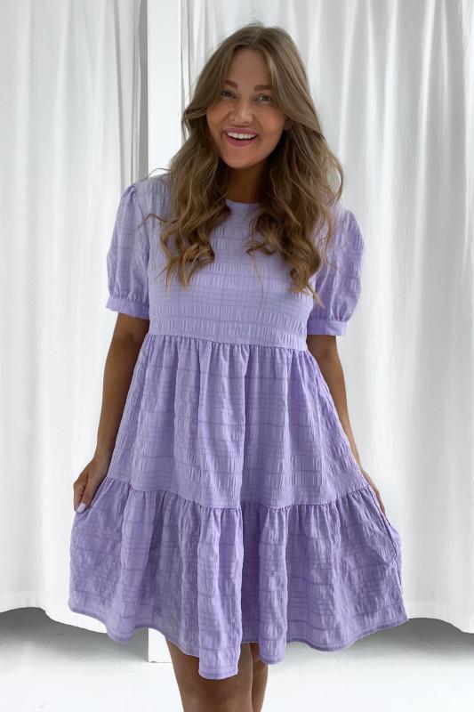 BYIC - Kort Vilma kjole - Pastel lilla