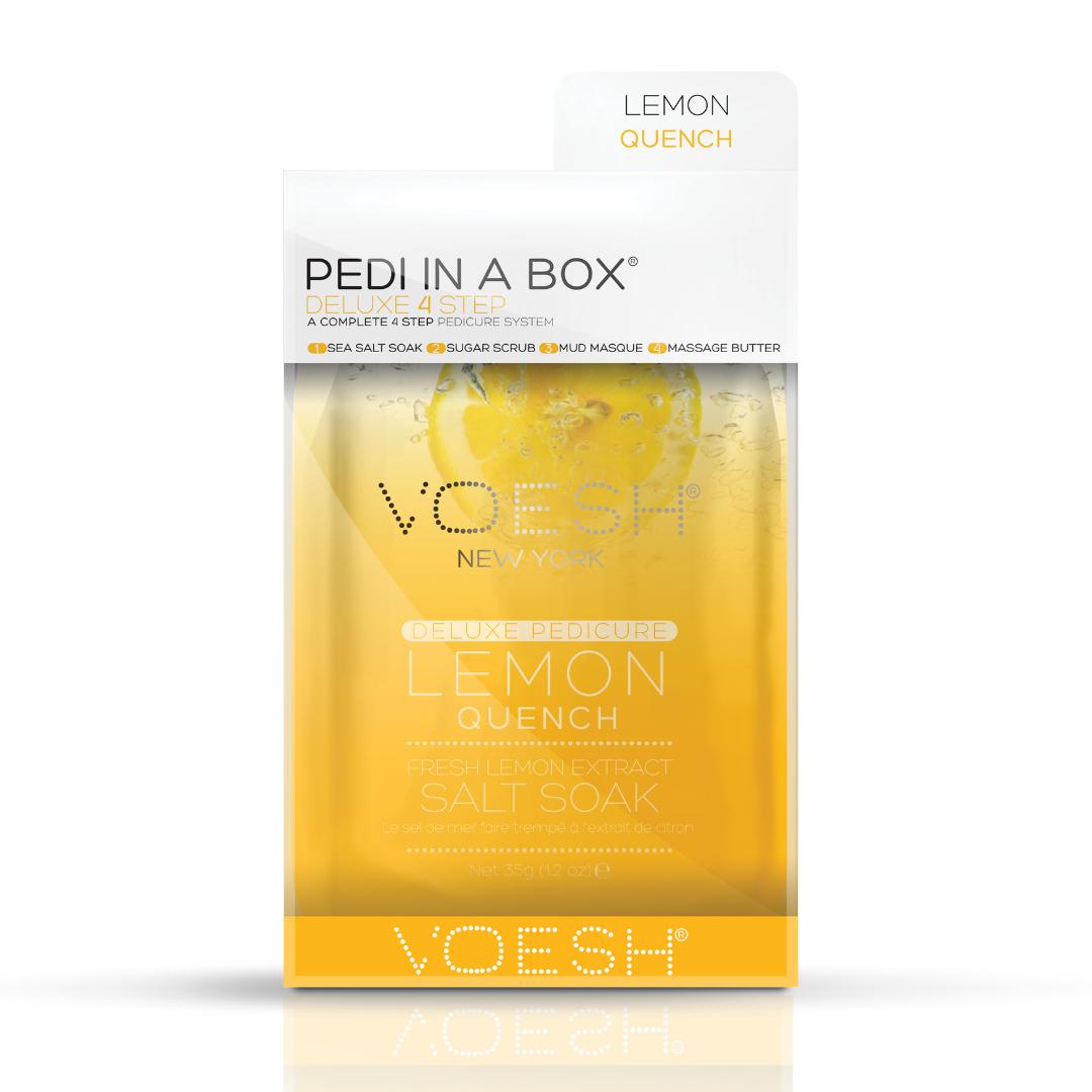 Voesh - Pedi in a box Lemon Quench