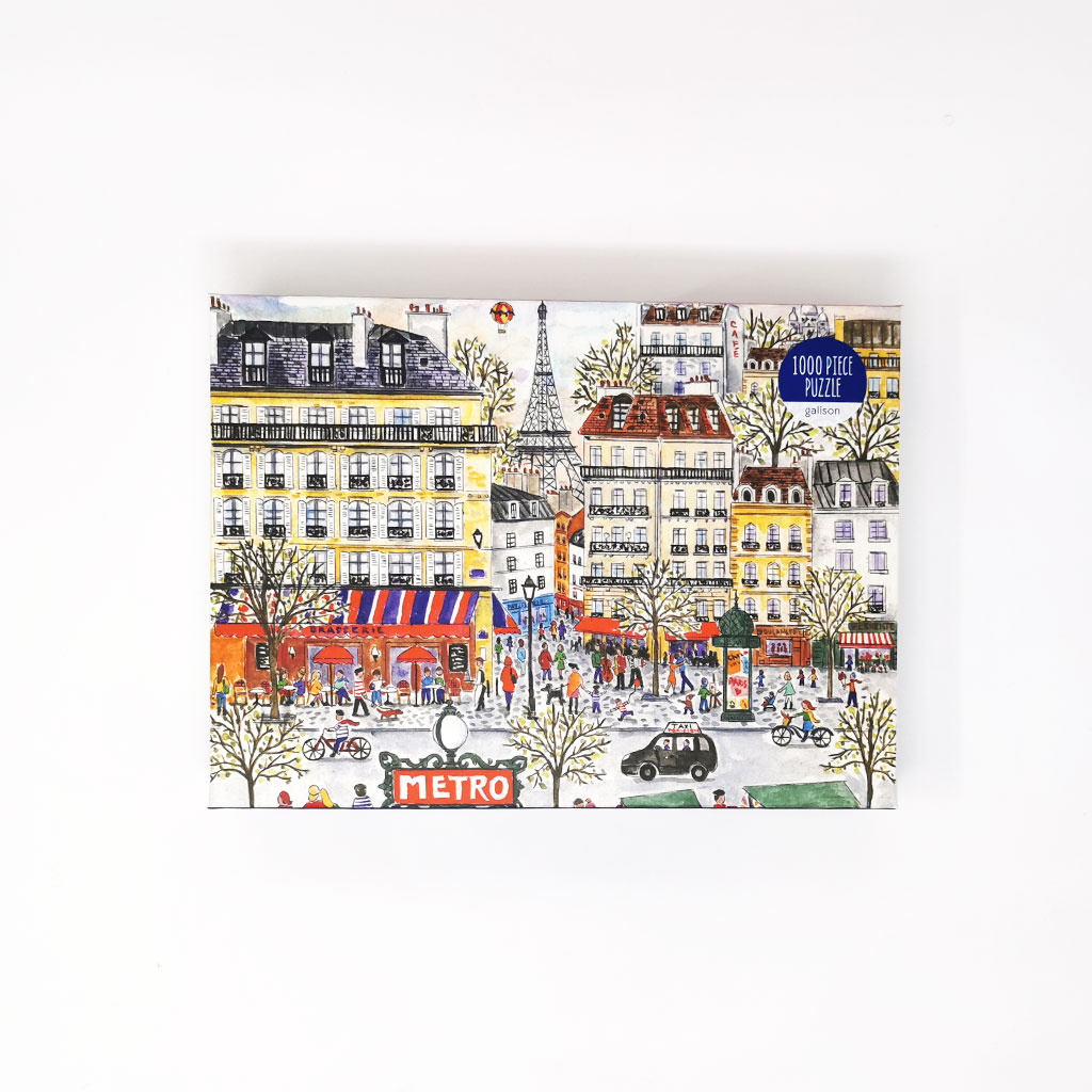 Puslespil Paris, 1000 brikker