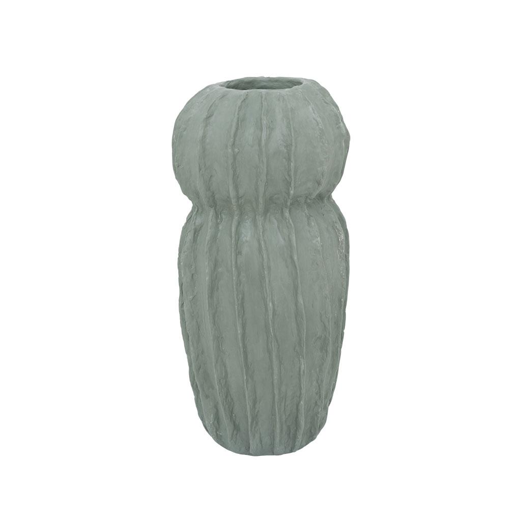 Skulpturel vase, Paper mache H31cm