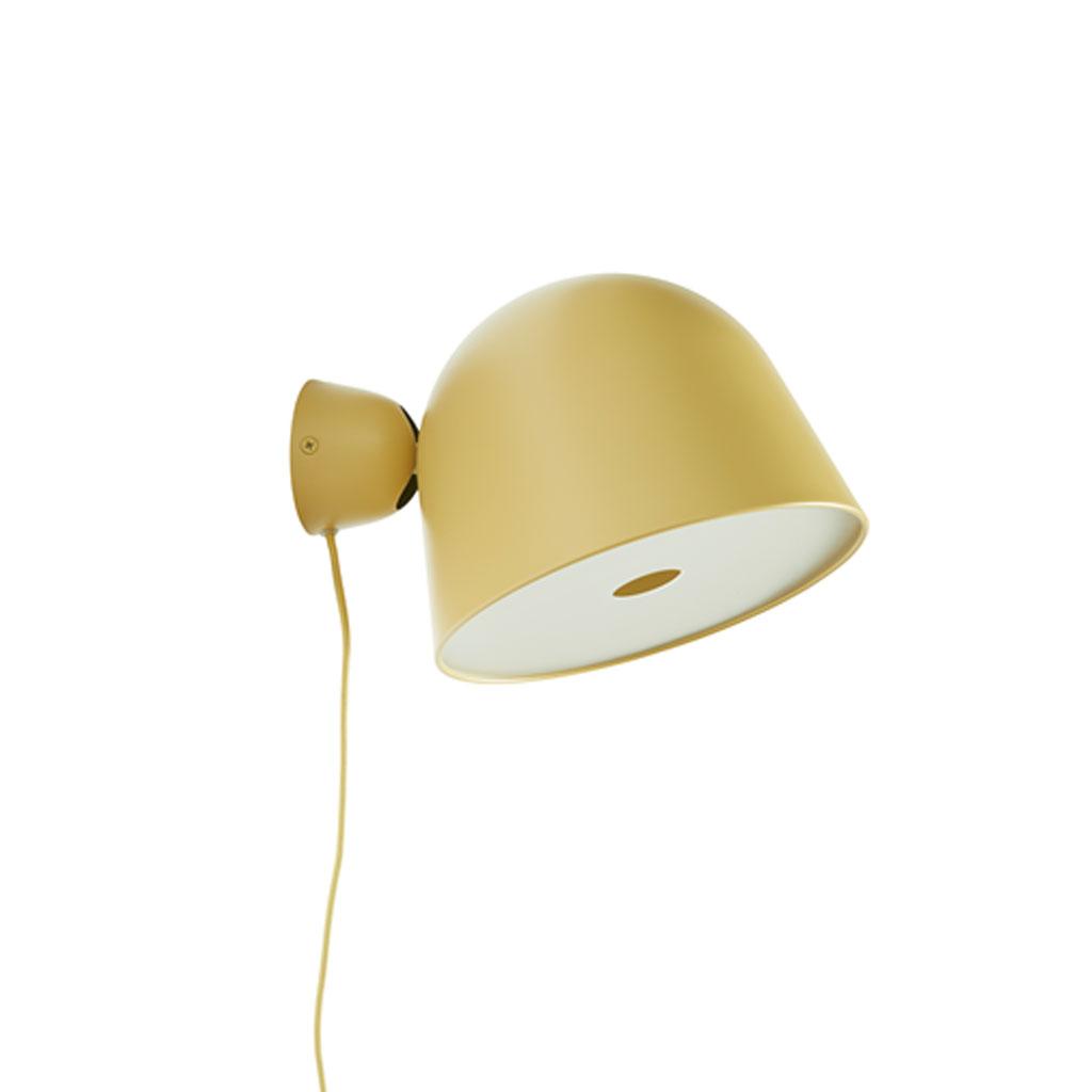 Væglampe Kuppi 2.0 Gul