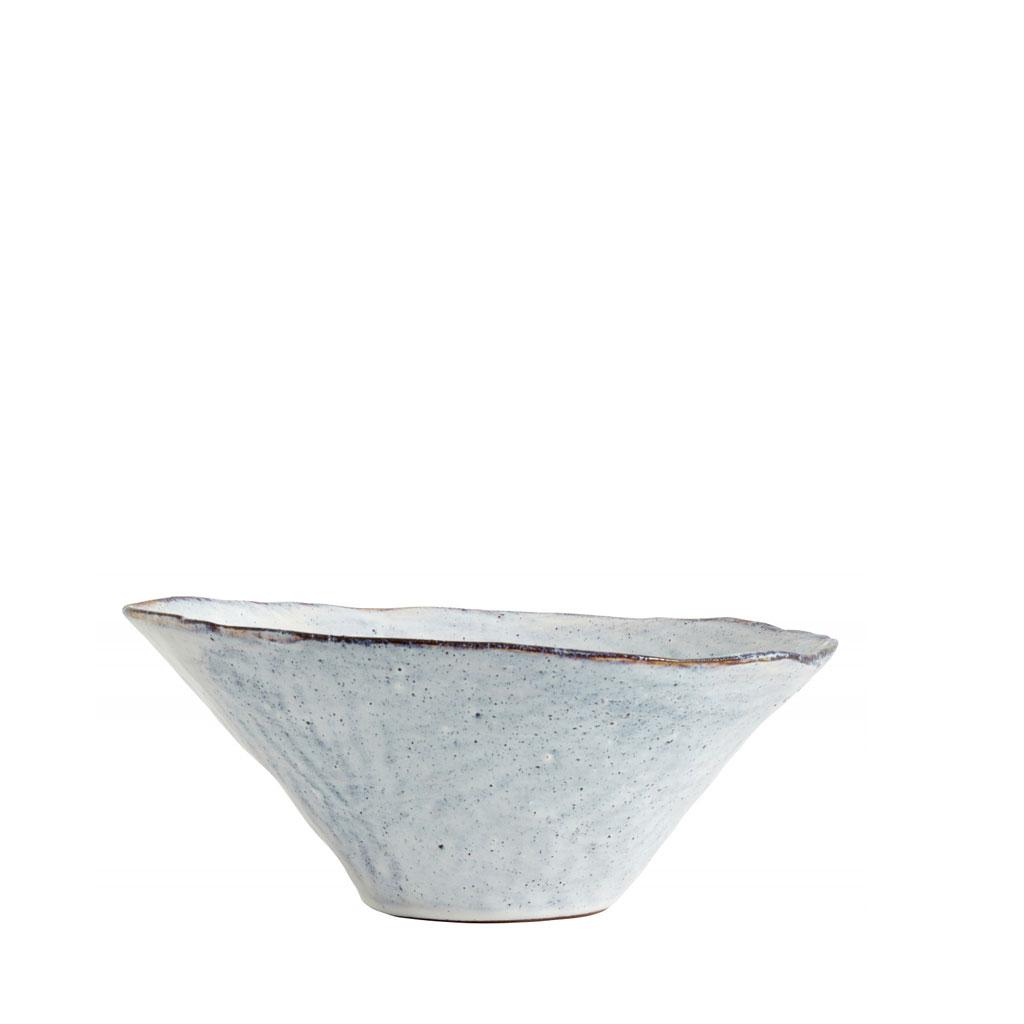 Salatskål keramik, isblå Ø29cm