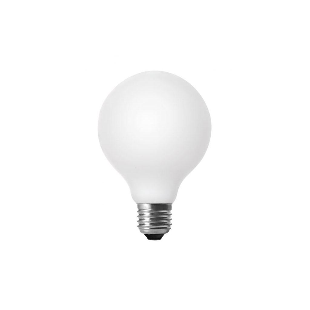 Pære, Matte Opal LED Fil Globe