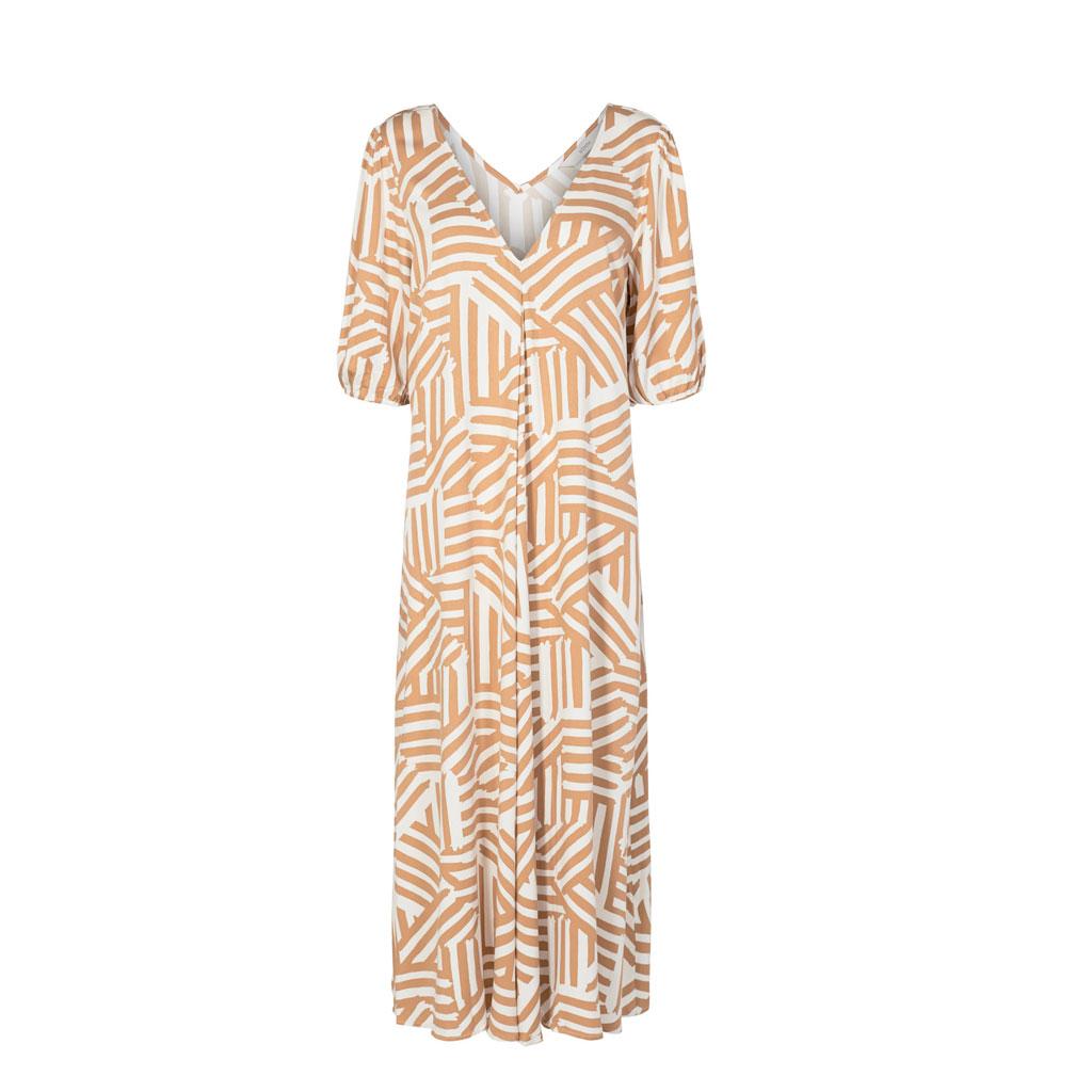 Lang kjole, Mønstret Tannin, Nümph