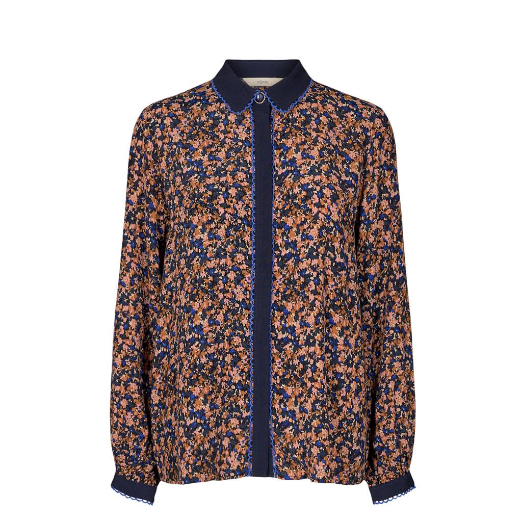 Skjorte, Blomstret, Nümph