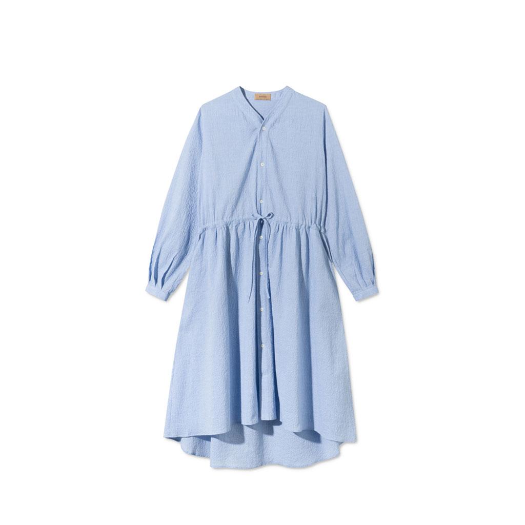 Kjole med knapper, Davina Lyseblå, Rue de Tokyo