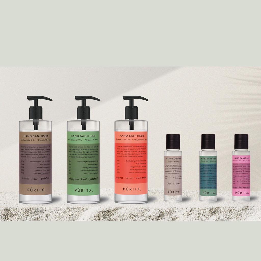 Håndsprit, Puritx - Lavender, Mandarin & Jasmine