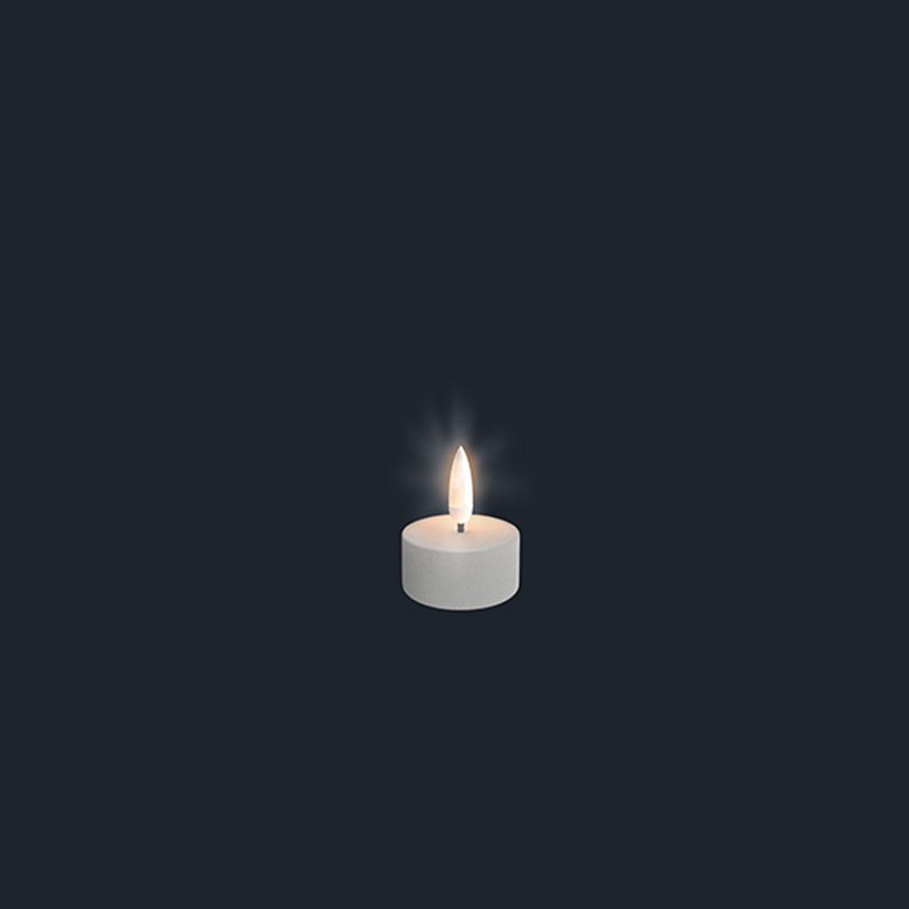 Uyuni LED Fyrfadslys (der passer til fjernbetjening)
