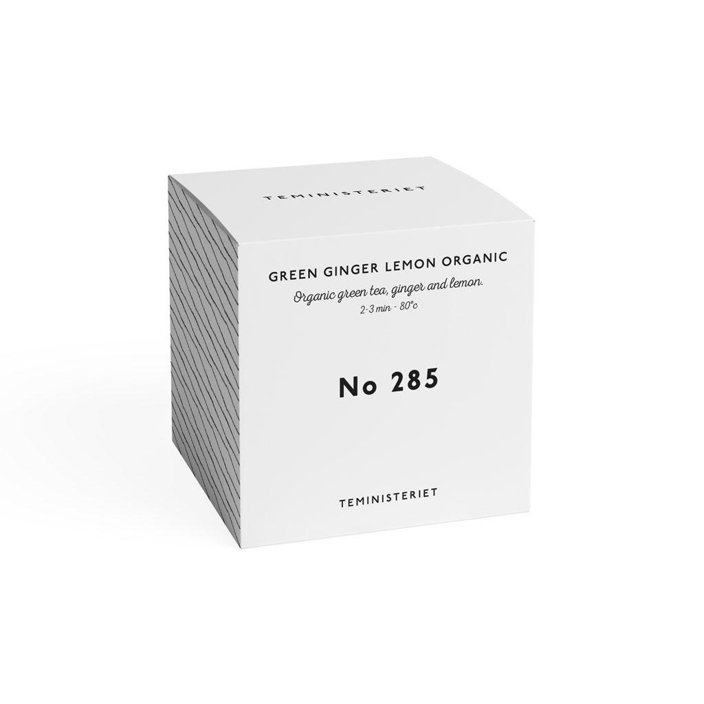 Teministeriet No.285 - Green Ginger Lemon Organic, 100g - refill