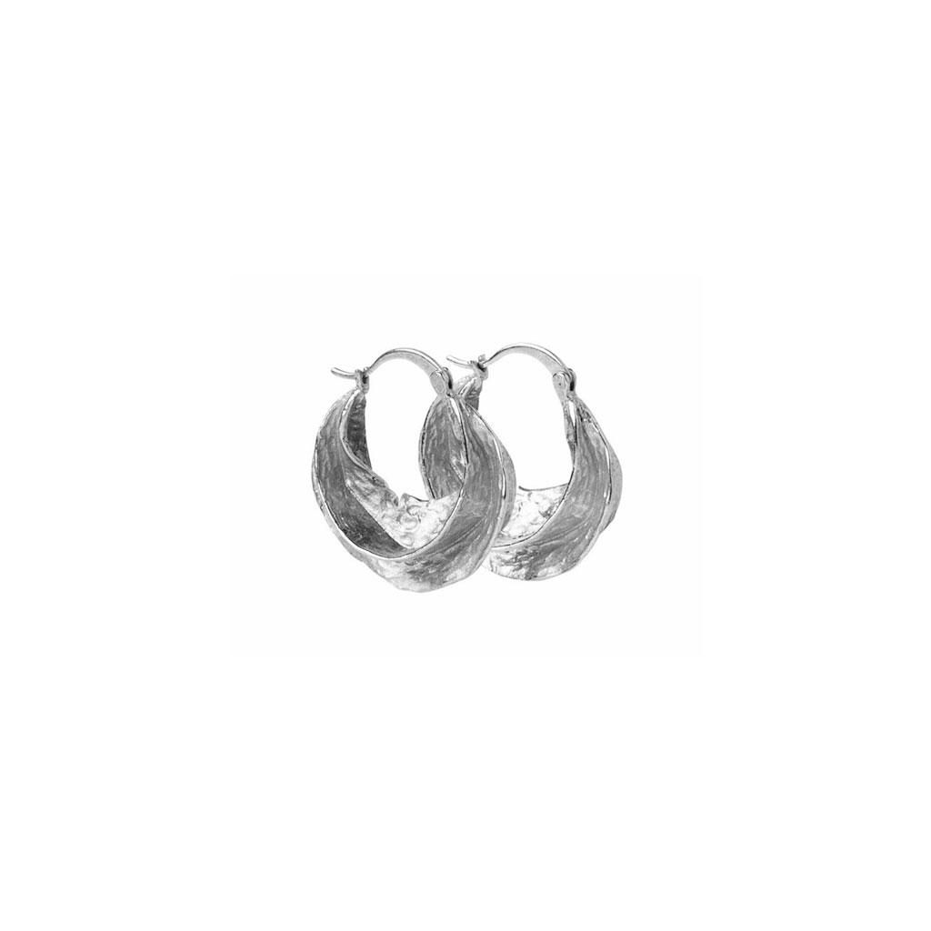 Pico øreringe, Africa, guld/sølv