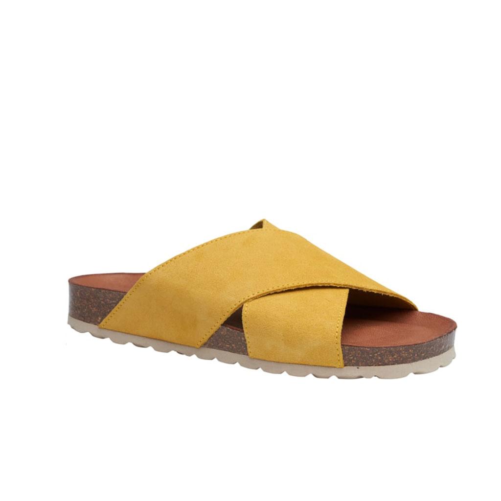 Sandal, Annet Yellow med Beige sål, Tim og Simonsen