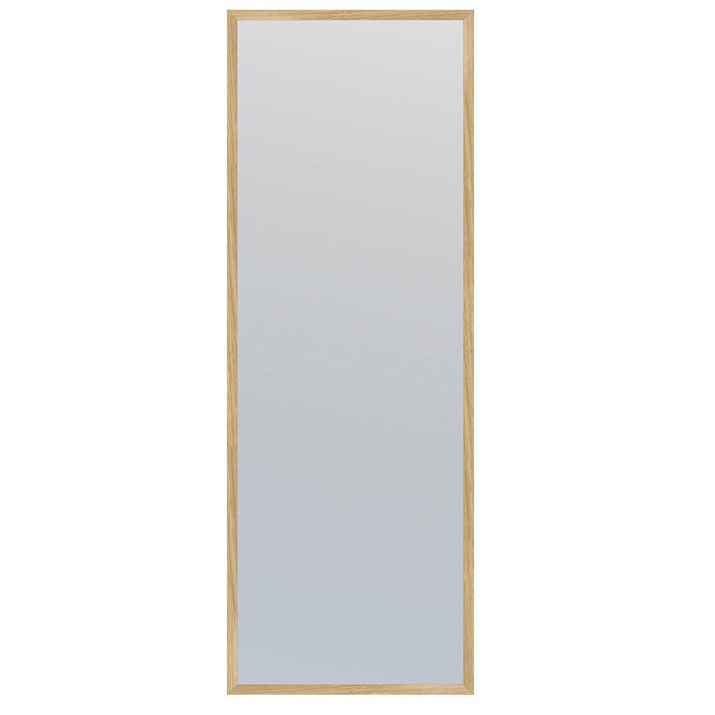 Spejl, Egetræsramme 40x120cm