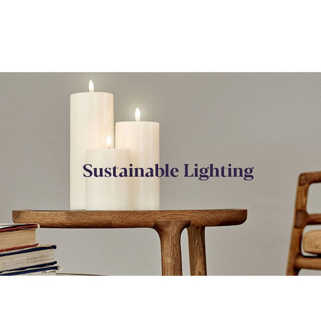 Uyuni LED adventskrans Lys, Ø5 x 10,4cm