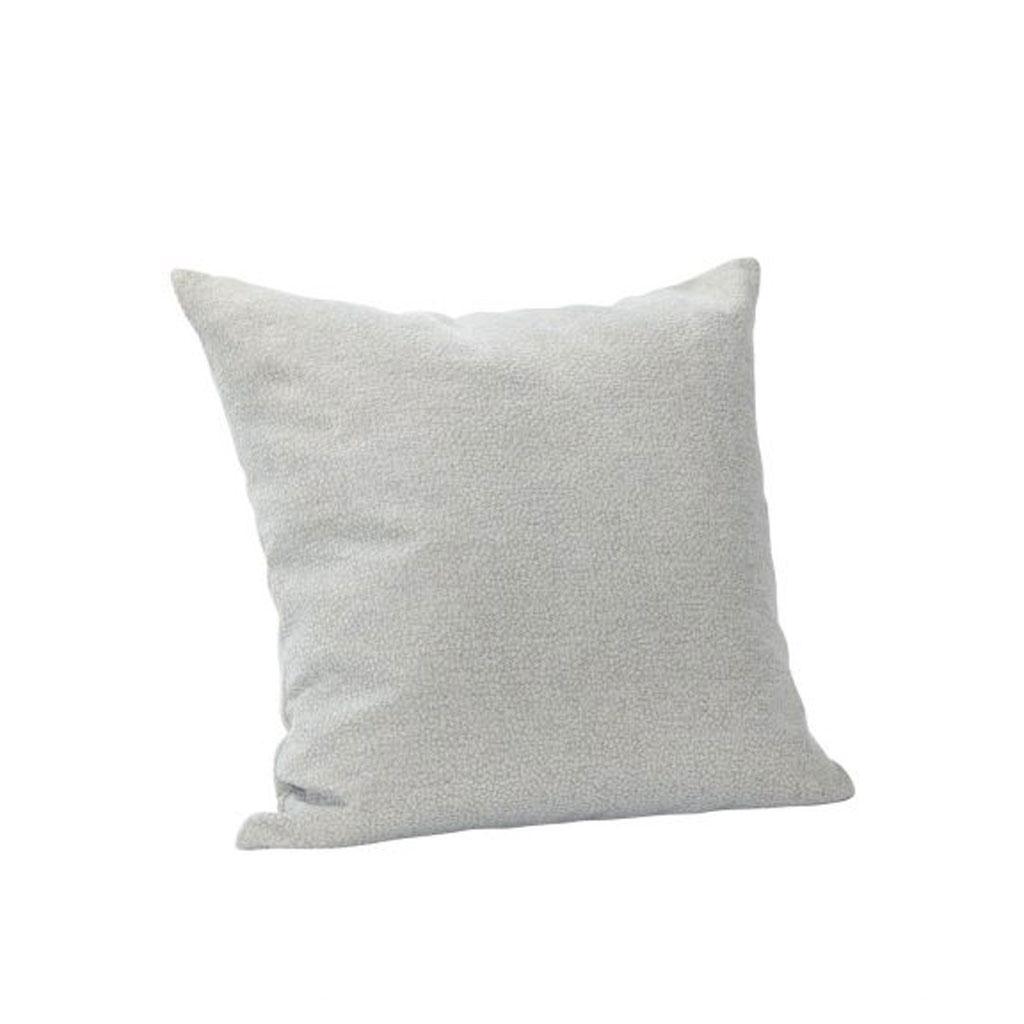 Pude, lyseblå mønstret, 60x60cm
