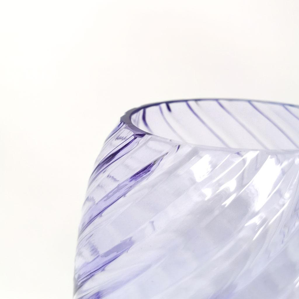 Vase Ellipse H23cm Lilla
