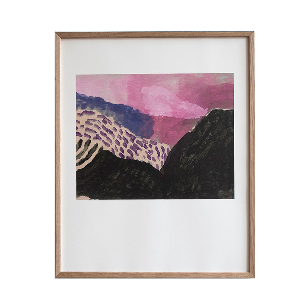 Plakat, Landscape 40x50cm, Isis Maakestad