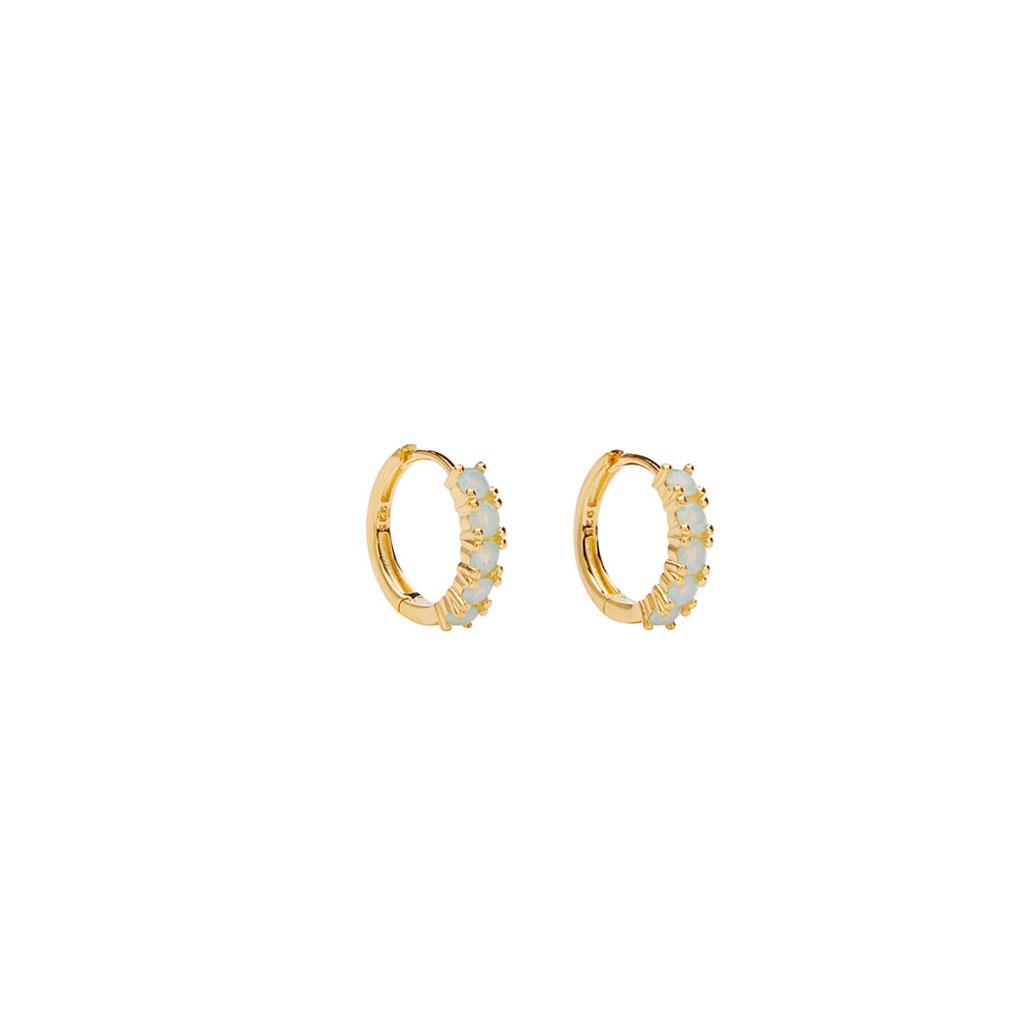 Øreringe, Summer Huggies Mint Opaque, Pico