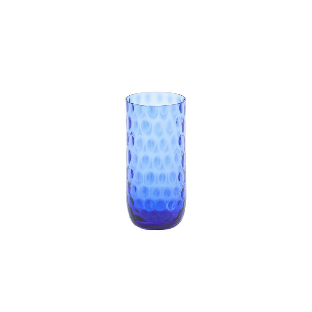Danish Summer - Højt glas Blue
