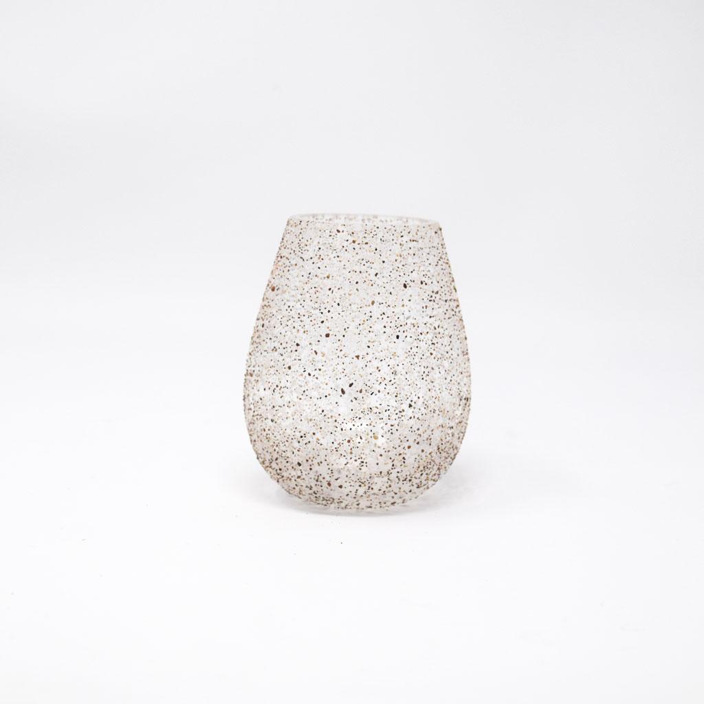 Zelmer Olsen, Lille Vase, Jern og Rød sand