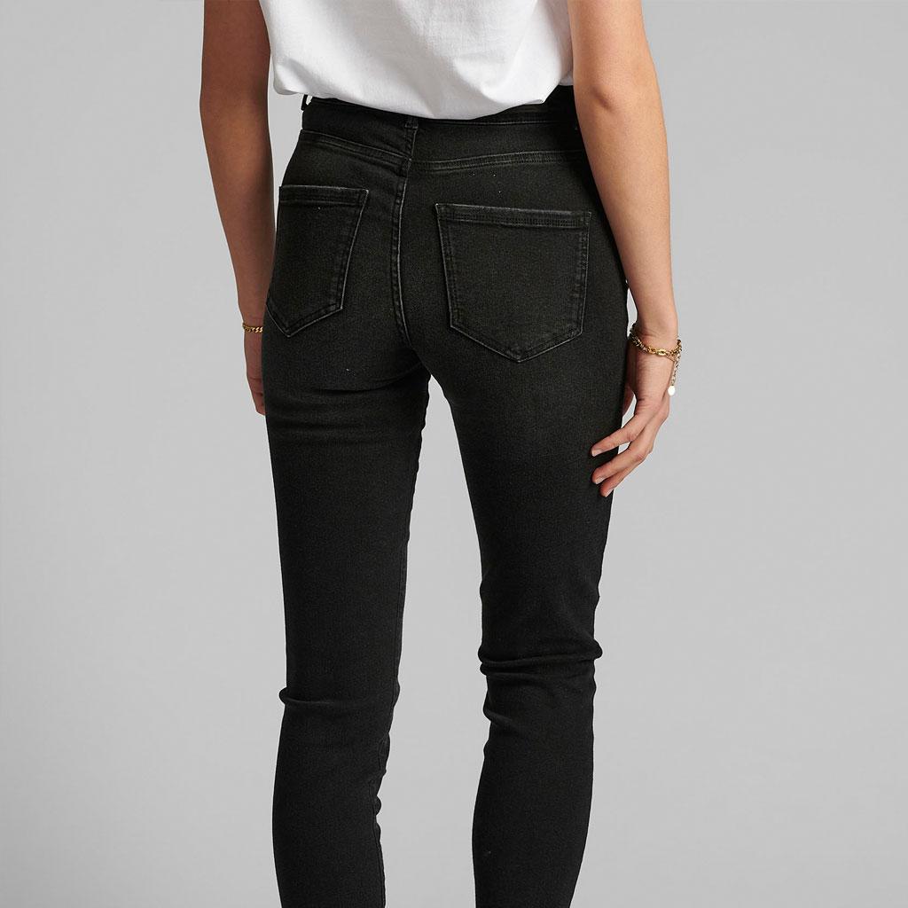 Jeans med stretch, Caviar, Nümph