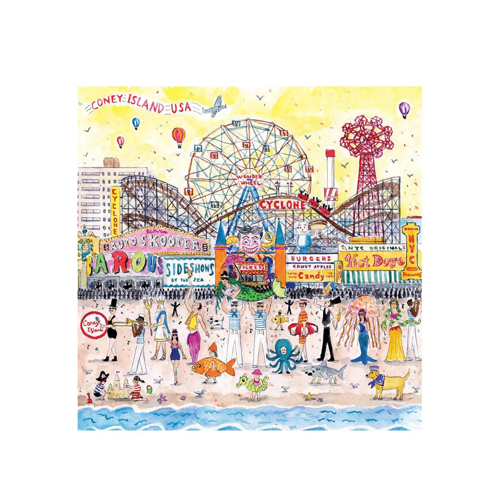 Puslespil Coney Island, 500 brikker