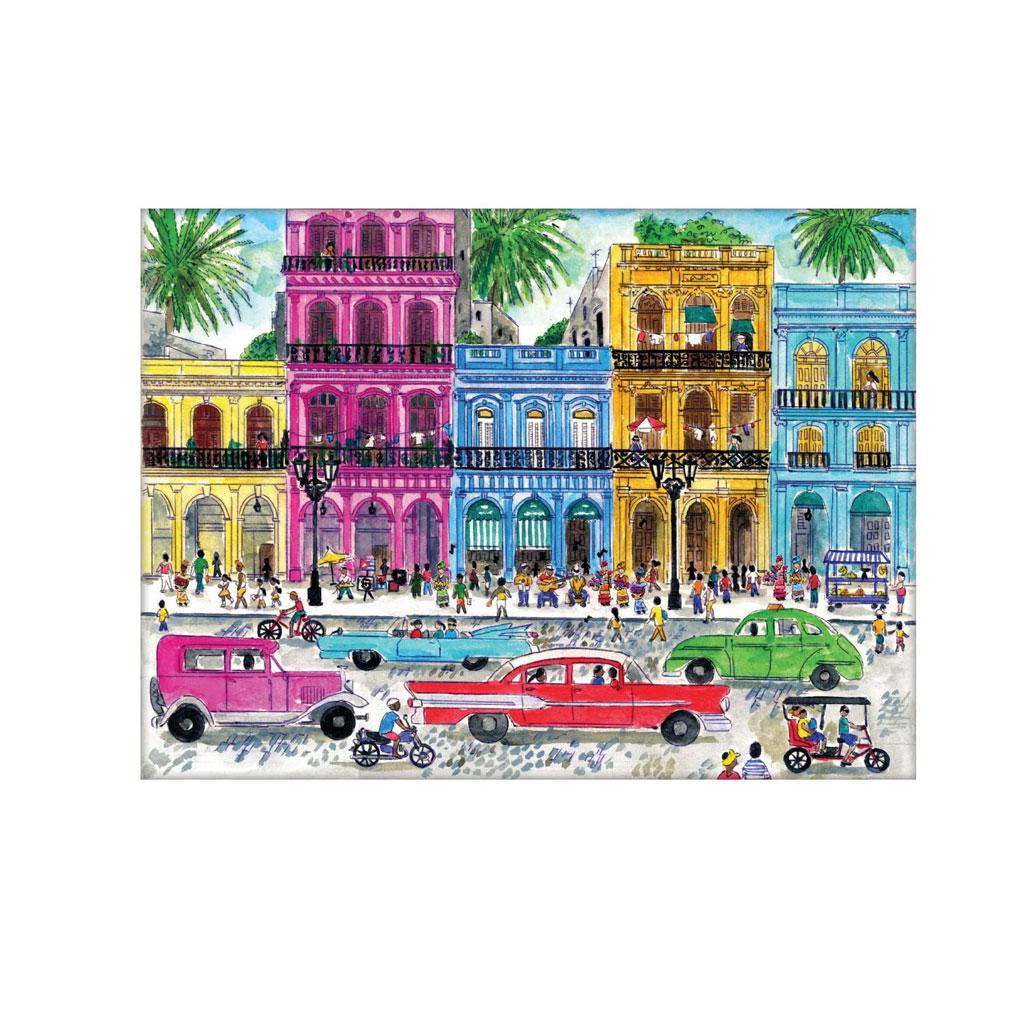 Puslespil Cuba, 1000 brikker