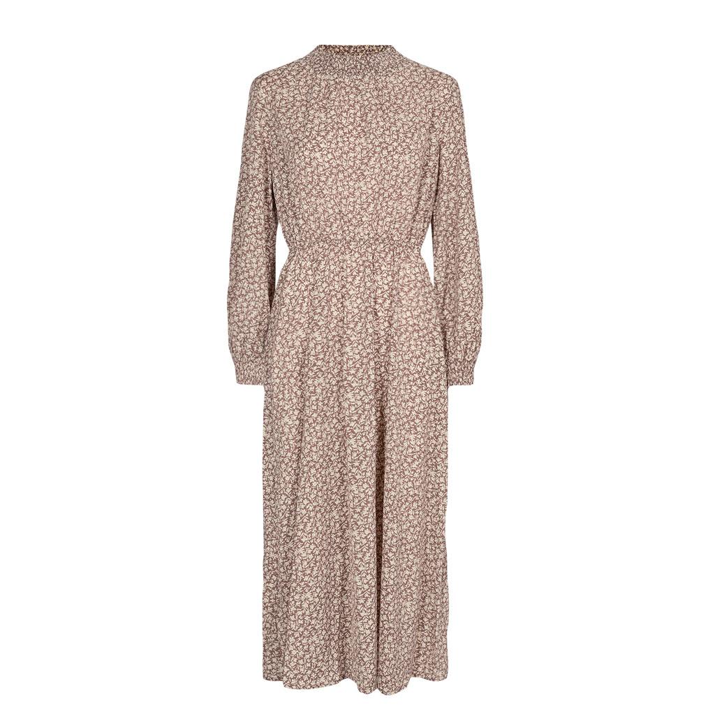 Lang småblomstret kjole, Nümph