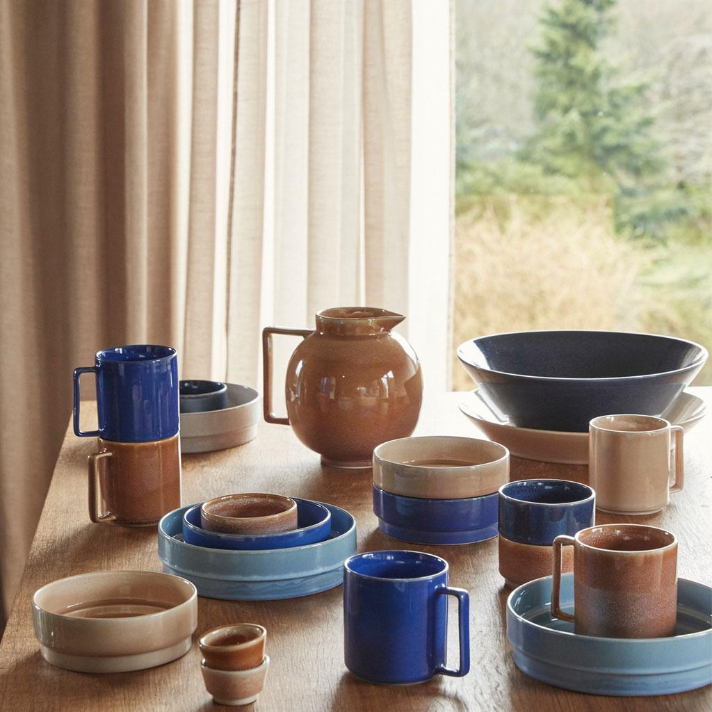 Kande, glaseret keramik