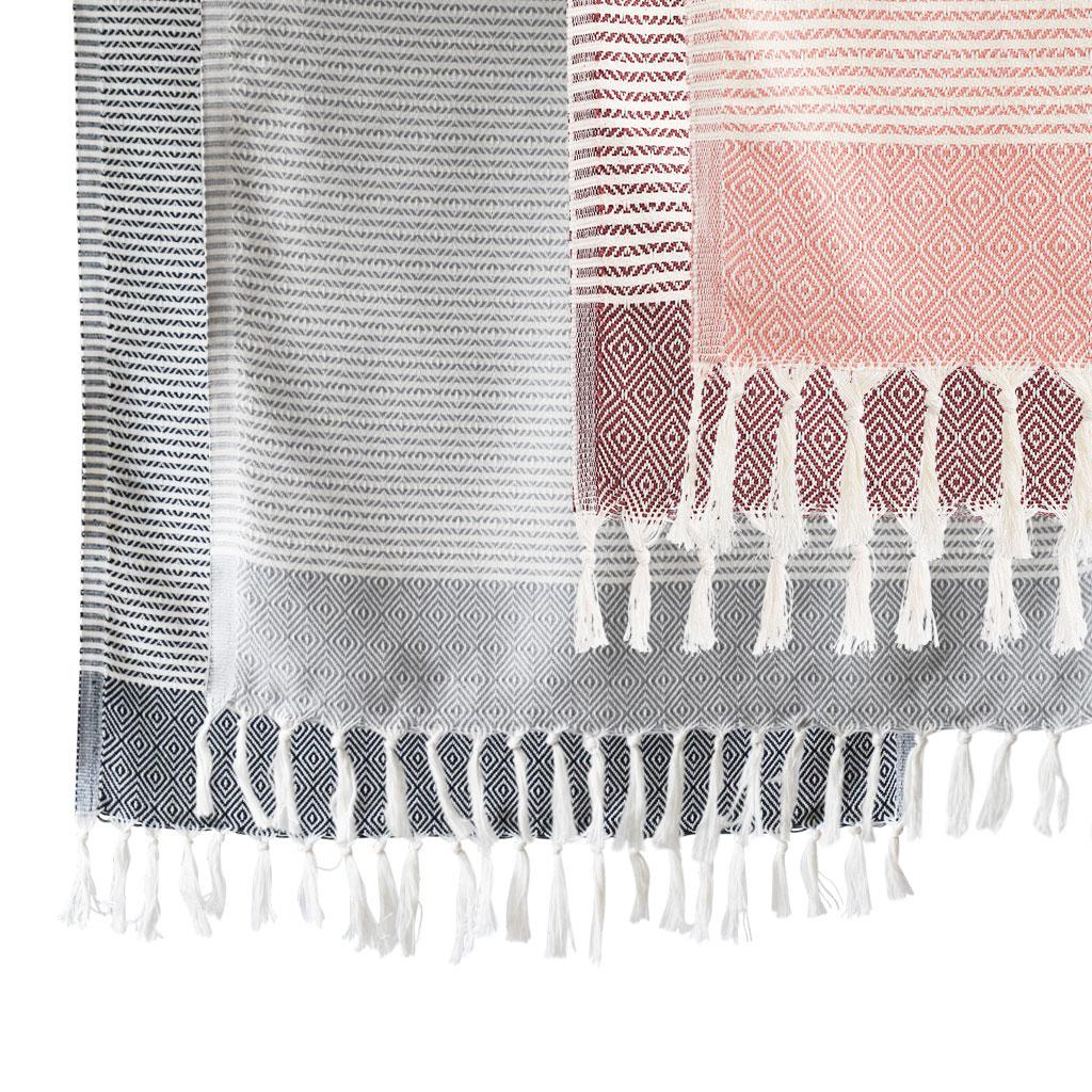 Hamamhåndklæde Elmas-iki, 100x180cm