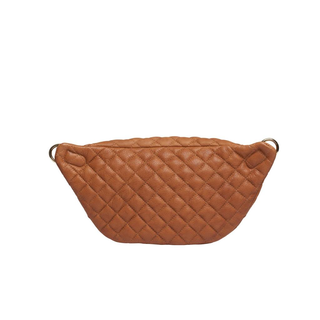 Bæltetaske, Jada, Cognacfarvet