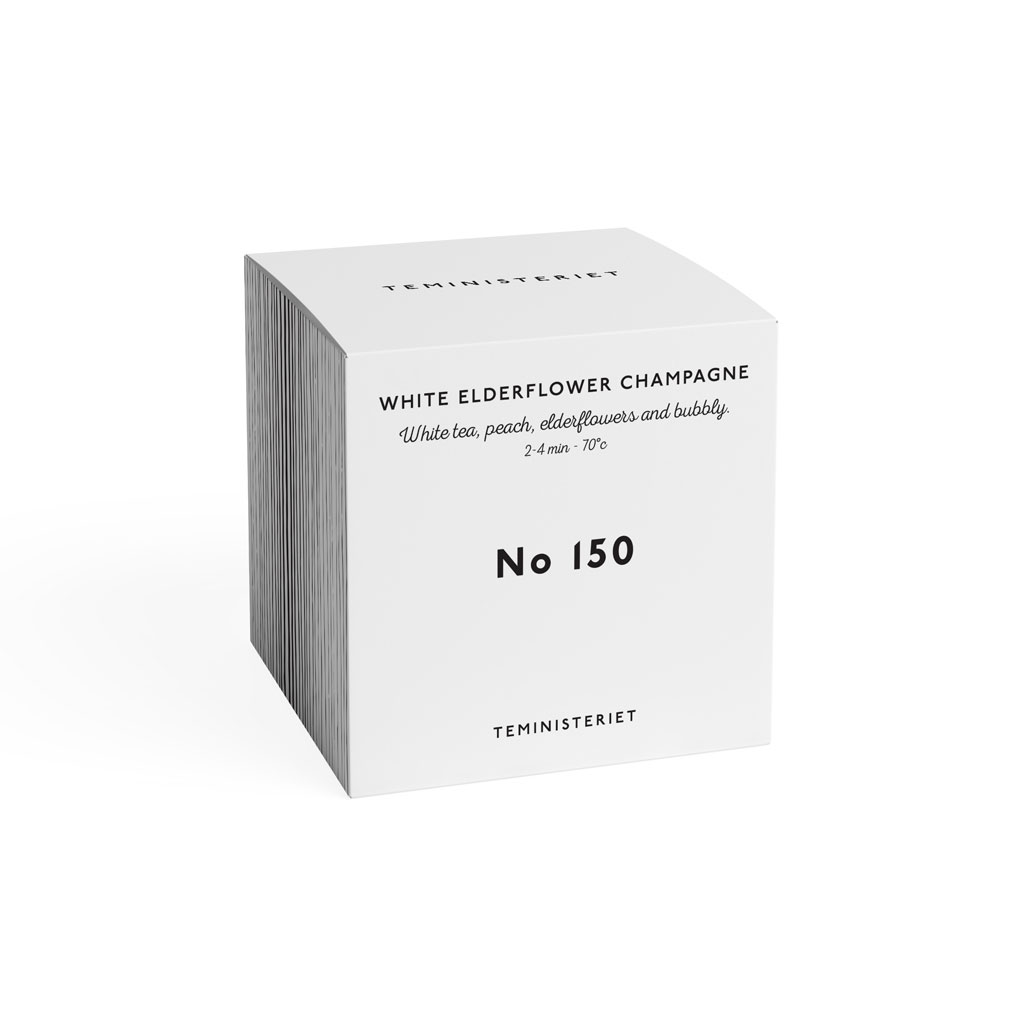 Teministeriet No. 150 - White Elderflower Champagne, 50g - refill