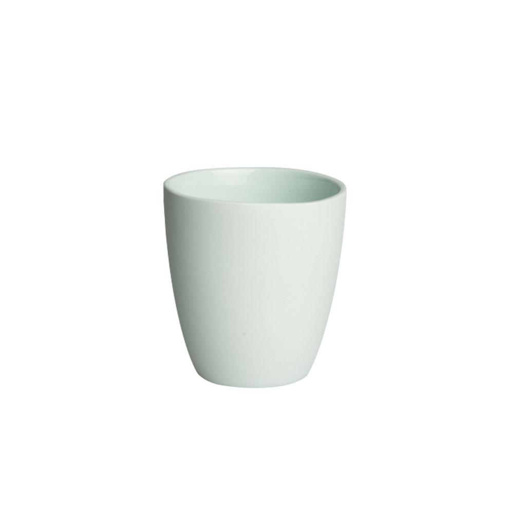 Krus, mingrøn porcelæn