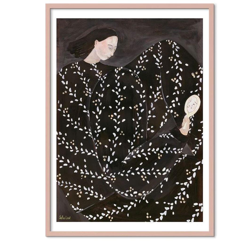Plakat, Mirror mirror, 40x50cm